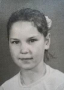 Little girl Maureen