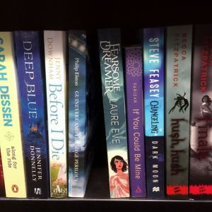 Space for where my book will one day sit!