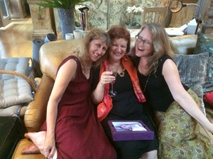 Anne Rooney Mary Hoffman Sarah Towle Lovely Literary Pals