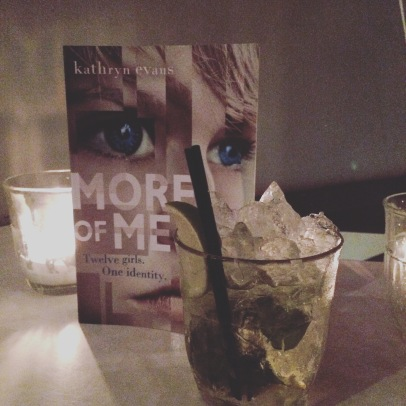 More of Me book and cocktail!